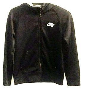 Boys Nike jackets zip-up hoodie size medium 10 to